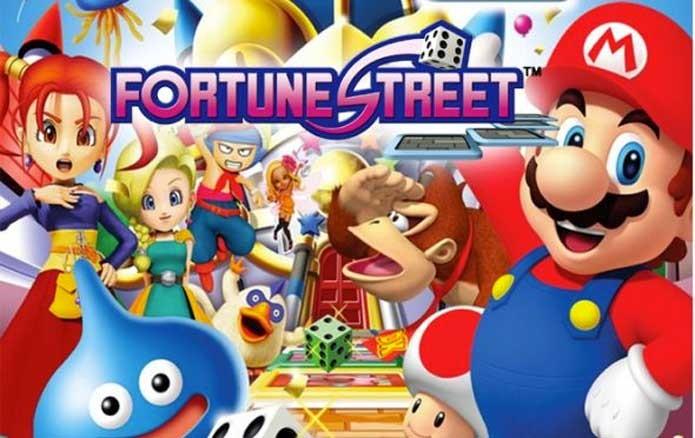 Mario e Dragon Quest em Fortune Street (Foto: Divulgação/Square Enix)