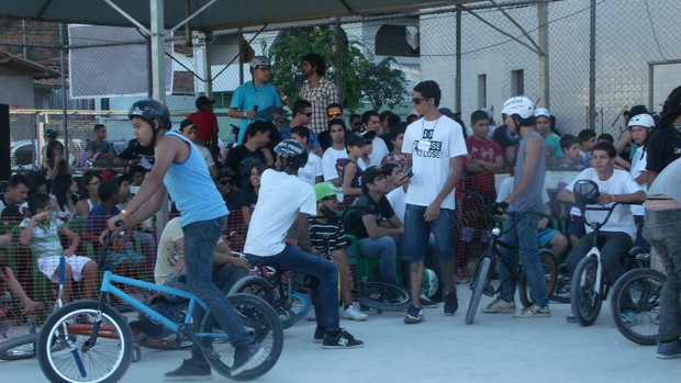 Esportes Radicais agitaram fim de semana em Teófilo Otoni (Foto: Thais Bohm/globoesporte.com)