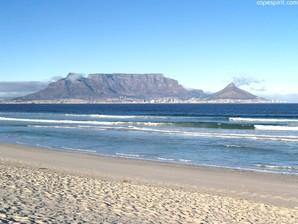 Table Mountain vista de Blouberg Beach