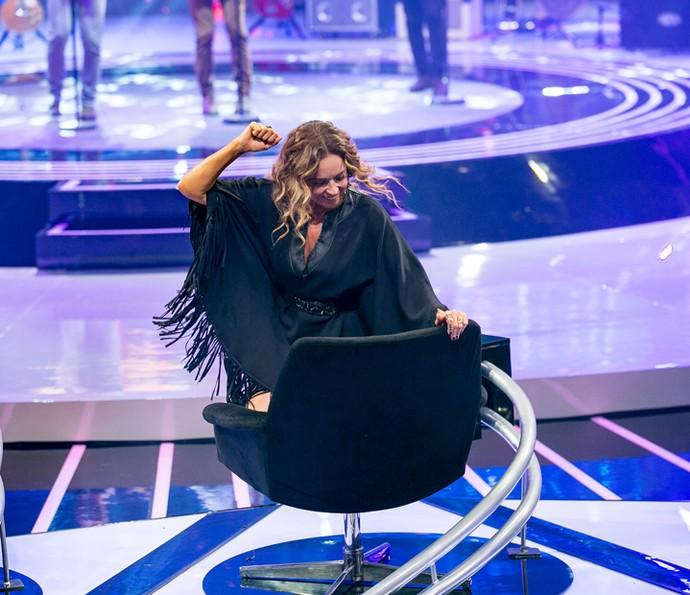 A música realmente deixou Daniela Mercury empolgada (Foto: Isabella Pinheiro/Gshow)
