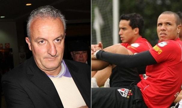 Dorival é o novo técnico do Flamengo; Luís Fabiano pode estar de volta na partida de domingo (Foto: Diego Guichard / GLOBOESPORTE.COM / Luiz Pires/VIPCOMM)
