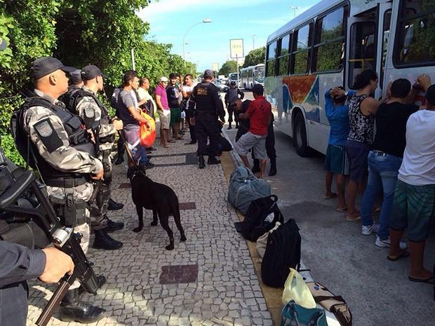 Polícia Militar intensificou patrulhamento na região Metropolitana da capital potiguar  (Foto: Divulgação/PM)