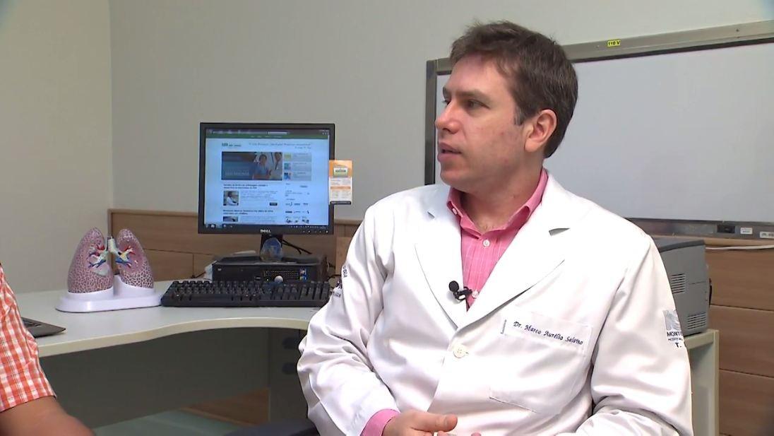 Hematologista Marco Aurélio Salvino explica o que é e para que serve a medula óssea (Foto: Divulgação)