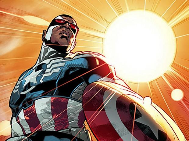 Marvel anuncia que Falcão assume identidade de Capitão América (Foto: Divulgação/Marvel)