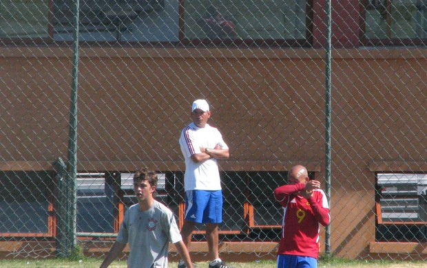 """Alexander """"Chandler"""" González - técnico da seleção de Cuba (Foto: Rafaela Gonçalves / GLOBOESPORTE.COM)"""