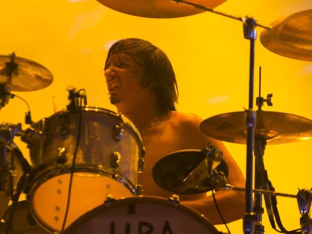 Gojira é a primeira atração do Palco Mundo neste sábado, segundo dia do Rock in Rio (Foto: Luciano Oliveira/G1)