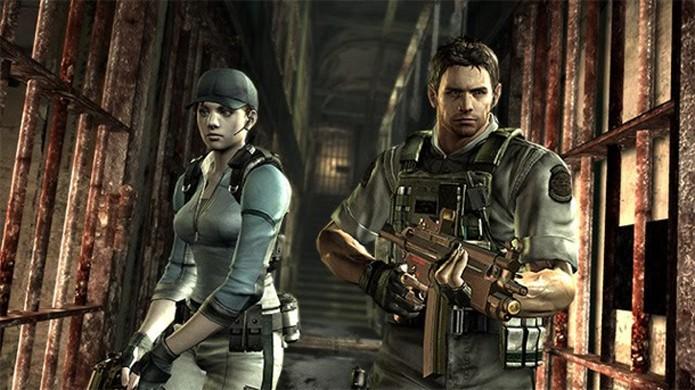 Jill e Chris terão suas roupas da B.S.A.A. como bônus em Resident Evil HD Remaster (Foto: PlayStation LifeStyle)