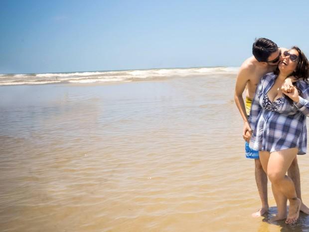 Luana e Rodrigo querem se casar antes do final de 2015 (Foto: Arquivo Pessoal)