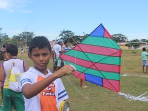 Carlos Vinicius Sousa, de 12 anos (Foto: Ellyo Teixeira/ G1)