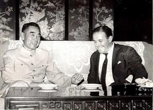 Jango em visita à China (Foto: Reprodução)