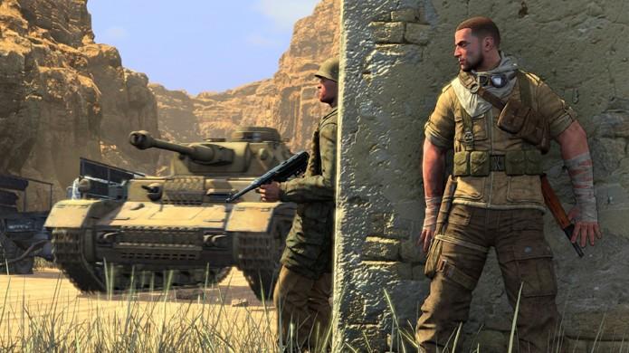 Tanques também possuem campo de visão e avistarão você assim como soldados (Foto: wolfsgamingblog.com)