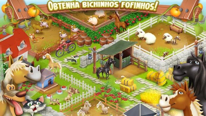 Bom humor e comandos fáceis fazem de Hay Day um dos melhores jogos sobre fazendas (Foto: Divulgação)