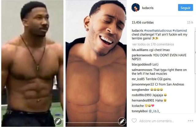 """Ludacris se diverte com os memes que surgiram após o lançamento do clipe de """"Vitamin D"""" (Foto: Reprodução)"""
