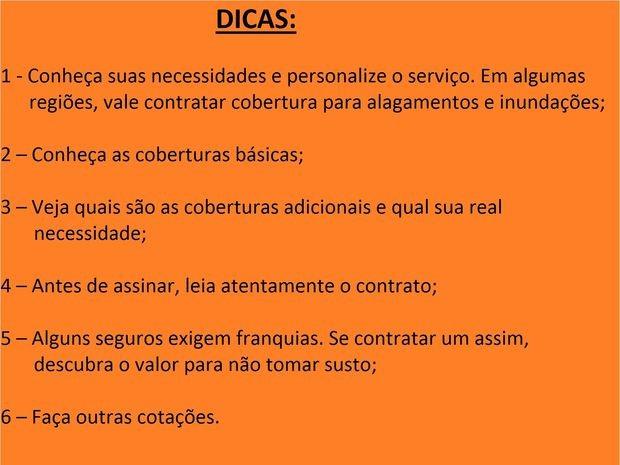 Dicas (Foto: Anderson Barbosa)
