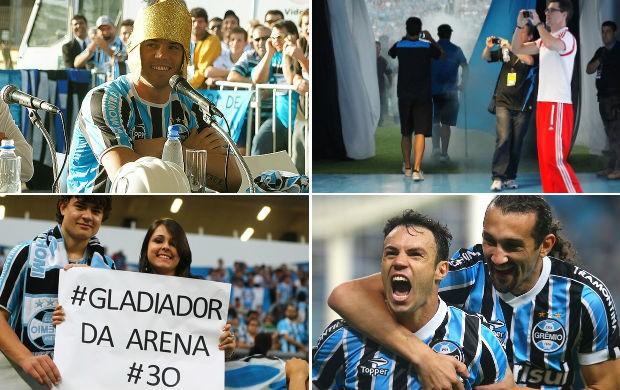 kleber arena gladiador grêmio montagem (Foto: Editoria de Arte/Globoesporte.com)