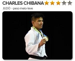 Peso do Ouro - Charles Chibana - Judo (Foto: infoesporte)