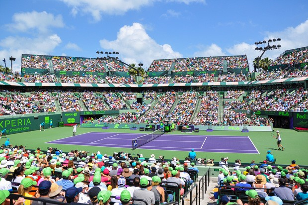 O ano de 2014 terá 36 torneios oficiais de tênis (Foto: Divulgação)