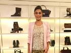 Veja Ju Paes, Thaila Ayala e outras famosas em evento de loja de calçados