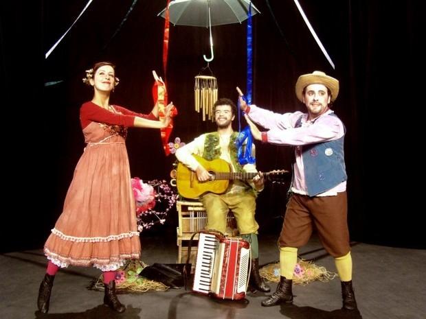 1ª edição do projeto Encena Parque será apresentada em Piracicaba - espetáculo Ciranda das Flores (Foto: Fabio Brandi Torres)