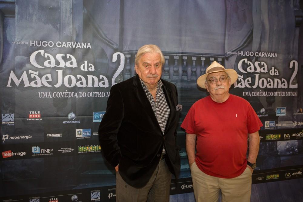 Hugo Carvana e Antonio Pedro (Foto: Fábio Marconi)