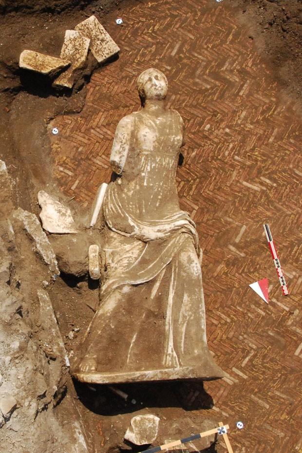 Estátuas podem ter inspirado o poeta Ovídio  (Foto: AFP)