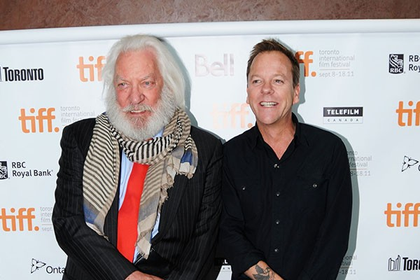 Donald Sutherland e Kiefer Sutherland (Foto: Getty Images)