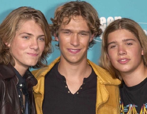 Irmãos Hanson: Taylor, Isaac e Zac (Foto: Reprodução)