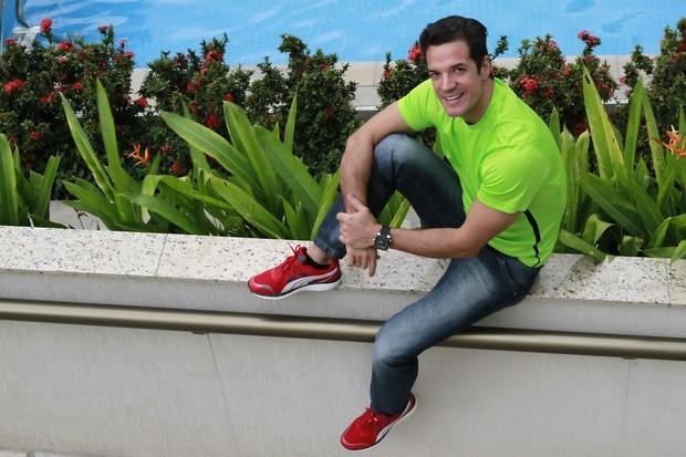 Ator Carlos Machado (Foto: Isac Luz / EGO)