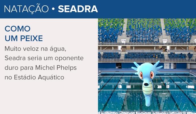 Seadra Pokémon (Foto: Infoesporte)