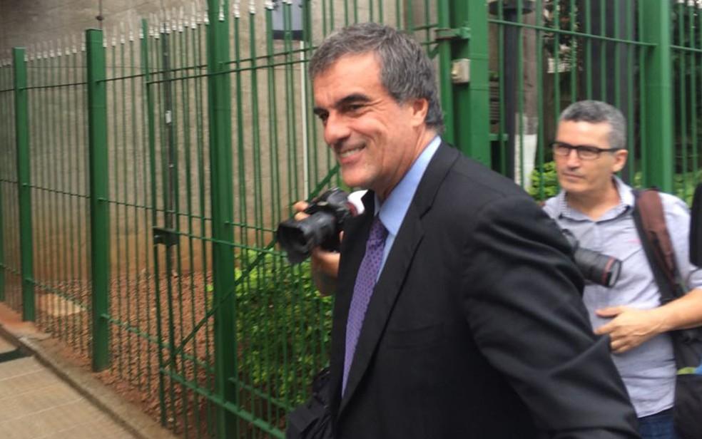 O ex-ministro da Justiça José Eduardo Cardozo, em imagem de março, em São Paulo (Foto: Paulo Paiva/G1)