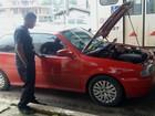 No AP, suspeito é preso com carro furtado que teve cor e placa trocadas