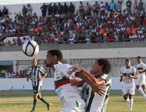 Baraúnas vence o Assu no Estádio Nogueirão, em Mossoró (Foto: Cézar Alves/Cedida)