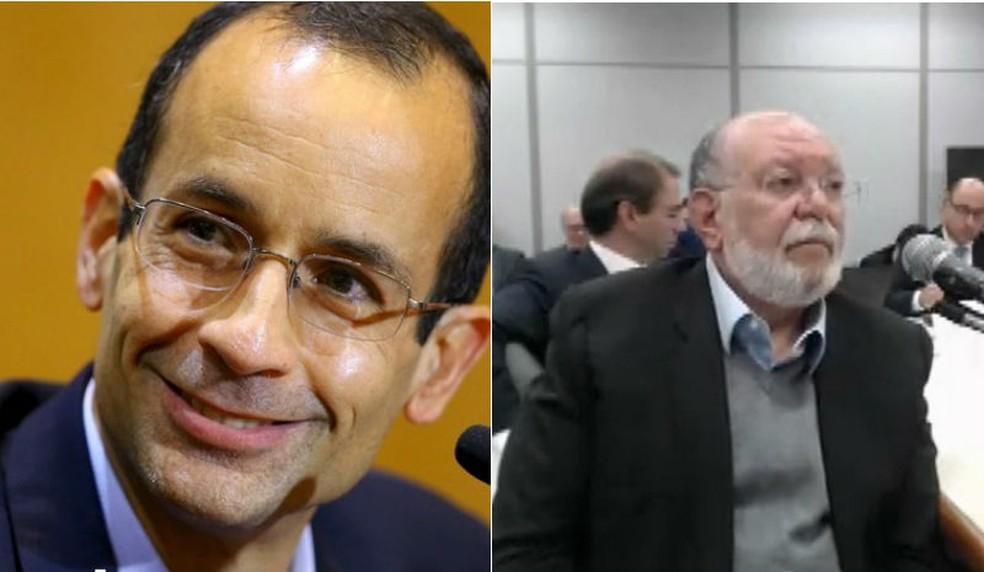 Marcelo Odebrecht e Léo Pinheiro serão ouvidos nesta segunda-feira (15), em Curitiba (Foto: Rodolfo Buhrer/Reuters e Reprodução/RPC)