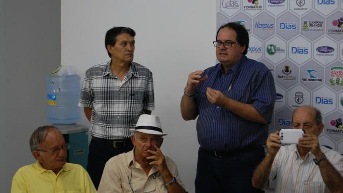 Eleição presidência do Treze (Foto: Silas Batista / GloboEsporte.com)