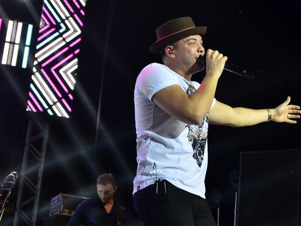 Wesley Safadão em show na Zona Oeste do Rio (Foto: Roberto Teixeira/ EGO)