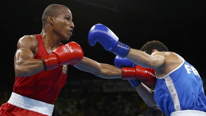 Robson Conceição - boxe (Foto: REUTERS/Peter Cziborra)