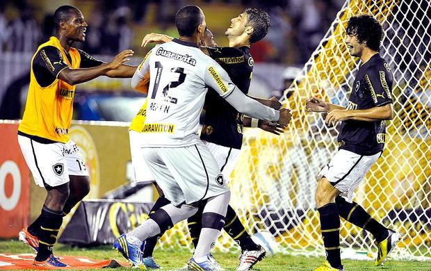 Fellype Gabriel gol Botafogo jogo Vasco (Foto: Fábio Castro / Agif)