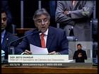 Deputado lê em plenário pedido que embasou processo de impeachment