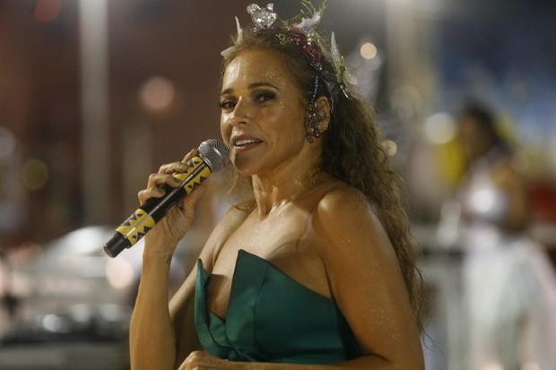 Daniela Mercury em apresentação no Carnaval de Salvador de 2010 (Foto: Lunae Parracho/LatinContent/Getty Images)