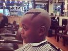 David Banda, filho de Madonna, exibe novo corte de cabelo