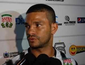 Jaílson, atacante do Treze (Foto: Silas Batista / GloboEsporte.com/pb)