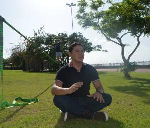 Salgado Neto é apresentador do Amazônia Revista (Foto: Jorge Abreu/Rede Amazônica)