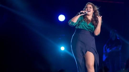 Marília Mendonça comemora sucesso de 'Infiel' em 'Chapa Quente'