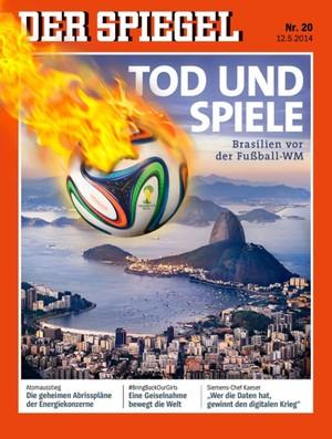 Reprodução revista Der Spiegel (Foto: Reprodução / revista Der Spiegel)