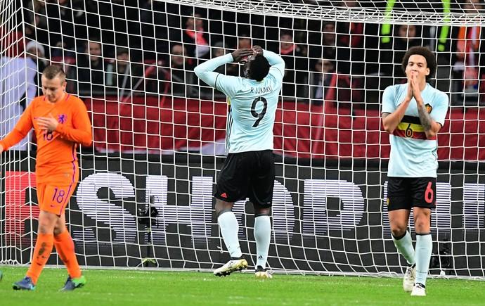 Lukaku, Holanda x Bélgica (Foto: EMMANUEL DUNAND / AFP)