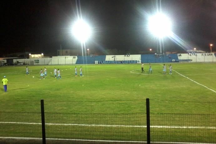 Estádio Pedro Alelaf, Parnaíba (Foto: Gilson Brito)