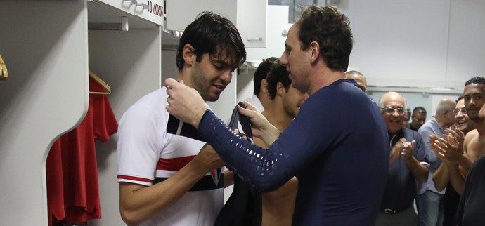 Kaká Rogério Ceni (Foto: Rubens Chiri / saopaulofc.net)