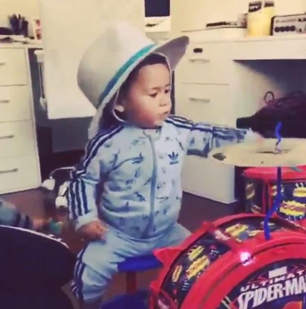 Zion, filho do Micael Borges (Foto: Instangram / reprodução)