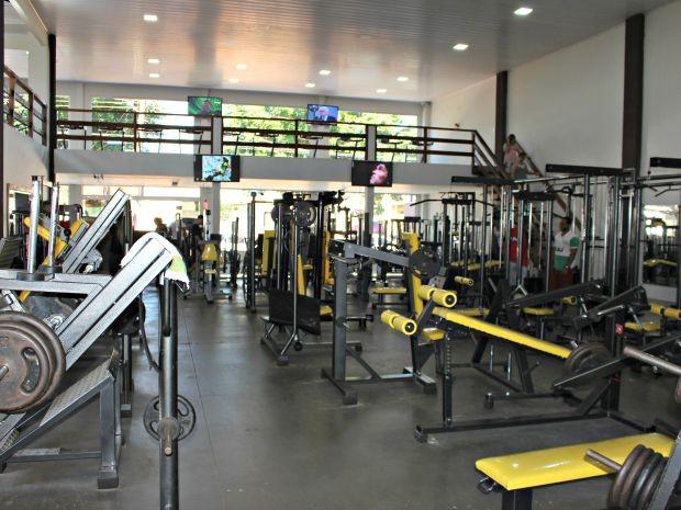 Sobrado de 850 m² abriga R$ 600 mil em aparelhos de ginástica (Foto: Graziela Rezende/G1 MS)
