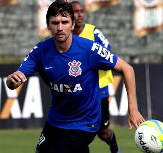 Paulo Andre corinthians treino (Foto: Daniel Augusto Jr. / Agência Corinthians)